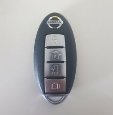 E51 Elgrand Smart Key 4 button Remote Fob 2006-2010 Used but with new key balde.