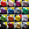GRADE A+ LATEX METALIC PEARLY-LUSTRE BALLOONS HELIUM GAS AIR  PARTY  WEDDING