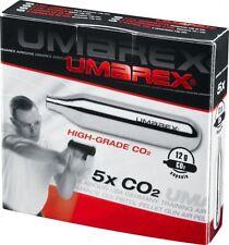 5x Umarex 12g CO2 Kapseln Luftgewehr Paintball Softair lose Ware im Karton