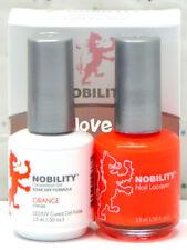 LECHAT NOBILITY LED/UV GelColor & Free Nail Polish Set NBCS060- Orange