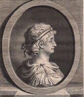 Portrait XVIIIe Otton II Empereur Saint Du Empire Roi d'Italie Otto II Le Roux