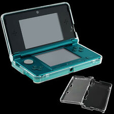 Hard Clear Plastic Snap-on Crystal Guard Protective Case Cover for Nintendo 3DS