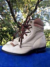 SHOE SALE @ LAREDO Cowboy Granny Ankle BRAND NEW Leather Boots Womens Shoes Sz 5