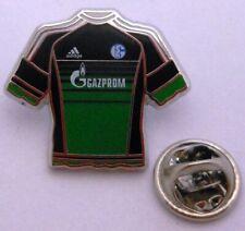 Pin / Anstecker + FC Schalke 04 + Trikot Event 15/16 Gazprom + Lizenzware #172