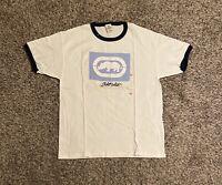 VTG Ecko Unltd. Mens T-Shirt Large Rhino Box Logo Spell Out Graphic Deadstock