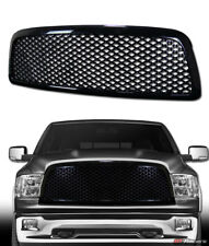 FOR 2009-2012 DODGE RAM 1500 BLK LUXURY MESH FRONT BUMPER GRILL GRILLE GUARD ABS