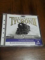 Railroad Tycoon II Special Edition CD-ROM PC Windows 95 Smart Saver 1999