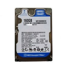 "WD 160GB WD1600BEVE 5400RPM PATA/ATA-100 2.5"" Laptop HDD Hard Disk Drive"