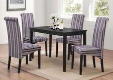 Ensembles de table et chaises de maison gris moderne pour véranda