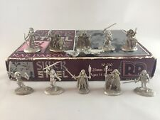 Ral Partha Silver and Steel Miniatures Set 10-310 Larry Elmore 10 Figs Unpainted