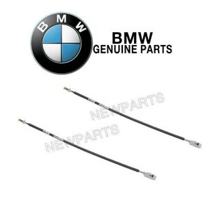 For BMW E46 323Ci 328Ci M3 Pair Set of 2 Door Cable-Inside Door Handle to Lock