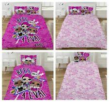 LOL Dolls Surprise Sing It Reversible Single or Double Duvet Cover Bedding Set