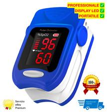 Aiesi Pulsossimetro Professionale da Dito - Blu