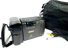 Vintage RCA Pro V714 Tape Camcorder Camera 12X Zoom Untested Estate Find