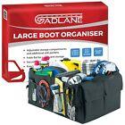 Large Car Boot Organiser Travel Tidy Storage Foldable Shopping Bag Tools Holder