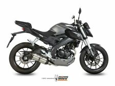 COMPLETE EXHAUST 1X1 MIVV SUONO STAINLESS STEEL-CARBON YAMAHA MT-125 2015-2019