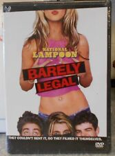 National Lampoon's Barely Legal (DVD, 2006) RARE COMEDY BRAND NEW