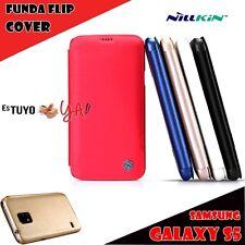 FUNDA SAMSUNG S5 I9600 FLIP COVER NILLKIN TIPO LIBRO SV