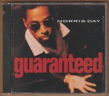 """MORRIS DAY cd """"Guaranteed"""" 1992 Reprise NEW Sealed 10 Tracks FUNK 0093624504023"""