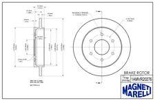 Magneti Marelli by Mopar 1AMR10214A Front Disc Brake Rotor