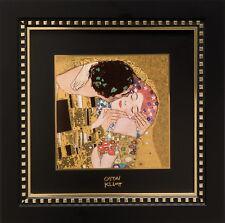 "GOEBEL PORZELLAN Gustav Klimt ""Der Kuss - Wandbild"" limitierte Edition"