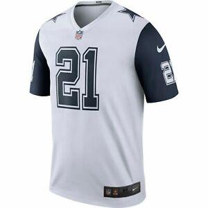 New Dallas Cowboys NFL Football Nike Ezekiel Elliott Color Rush jersey Men's 3XL
