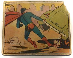 Vintage Scarce 1940 Superman Card Gun Inc. Capture of the Kidnapper #11