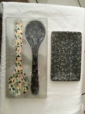 Oh Joy! For Target 2 Piece Serving Set & Paper Plates 10 Count NEW