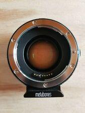 Metabones Speedbooster Ultra Canon EF- E mount
