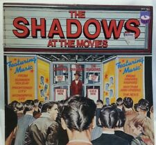 THE SHADOWS - vintage vinyl LP - At The Movies