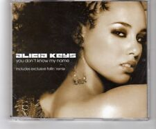 (HQ913) Alicia Keys, You Don't Know My Name - 2003 CD
