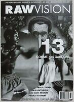 COMME des GARCONS × RAW VISION 2014 A/W Booklet 13 Pamphlet Flyer Art Paper Rare