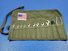 VINTAGE US ARMY SURPLUS IGNITION WRENCH SET W/ROLL KAL USA BRAND SHIPS FREE LOT