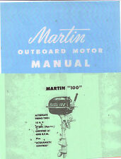 "MARTIN ""100"", 10Hp  Outboard Motor Service Manual"