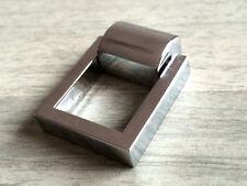 Silver Dresser Pulls Drawer Pull Kitchen Cabinet Knob Square Ring Drop Chrome