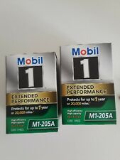 2 pack of Engine Oil Filter Mobil 1 M1-205A