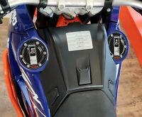 2 PROTEZIONI TAPPI SERBATOIO in gel 3D per MOTO compatibili KTM 990 ADVENTURE