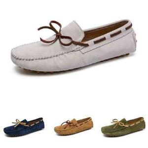 38-49 Mens Slip on Loafers Shoes Pumps Driving Moccasins Flats Soft Breathable L