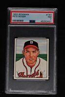 1950 Bowman - #193 - Pete Reiser - PSA 7 - NM