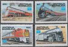 Timbres Trains Antigua et Barbuda 912/5 ** lot 8880