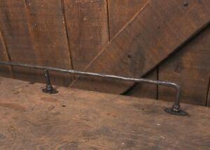 Industrial foot rail, vintage, metal, bar, HOME BAR-RAILING, Foot rest, solid