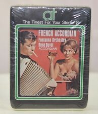NEW FRENCH ACCORDIAN CAFE CONTINENTAL BY FONTANNA ORCHESTRA 1118 (8 TRACK)