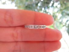 .39 Carat Diamond White Gold Half Eternity Ring 14k sepvergara