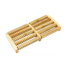 Fußmassageroller Rollenfußmassage Reflexzonen Akupressur Relax Massage aus Holz
