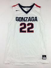 7f85d41dbde1 New Nike Gonzaga Bulldog Enforcer Jersey Men s L Basketball White  22 802300