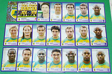 PANINI FOOTBALL FOOT 2006 FC NANTES FCN CANARIS COMPLET FRANCE 2005-2006