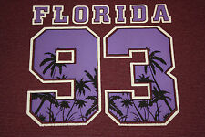 XL/XXL * vtg 90s 1993 striped FLORIDA palm tree tourist t shirt * 66.70 * 2x 2xl
