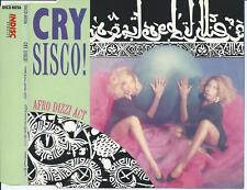 CRY SISCO! - Afro dizzi act CDM 4TR New Beat Euro House 1989 (INDISC) BELGIUM
