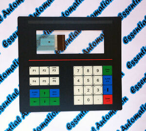 Beijer / Mitsubishi MAC50 MTA250 HMI Replacement Front Membrane / Foil / Keypad