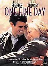One Fine Day ~ DVD 2002 ~ Michelle Pfeiffer & George Clooney ~ Brand New~Sealed